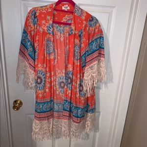 Gorgeous cover up that makes every outfit perfect